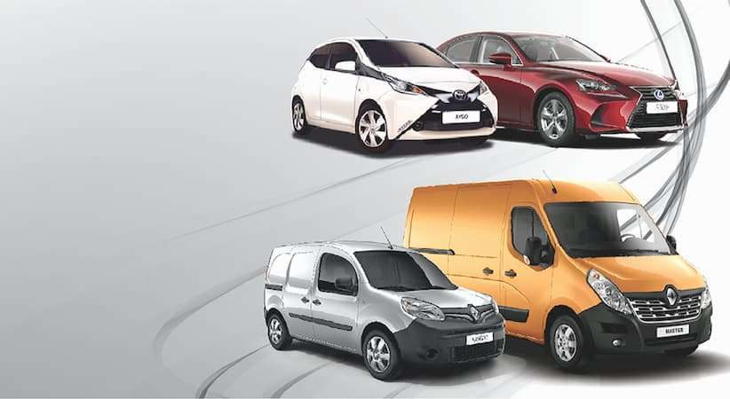 Alquiler de furgonetas y coches en Mallorca.